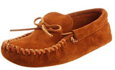 9. Minnetonka Leather Softsole