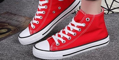 Best Elevator Shoes- red converse