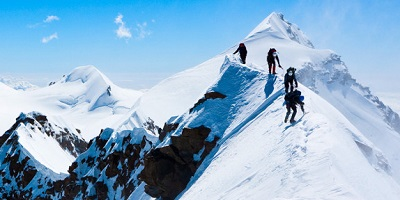 Best Mountaineering Boots - mountain with snow
