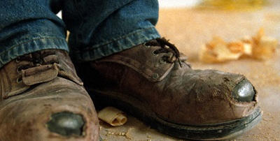 Best Safety Shoes - brown boots