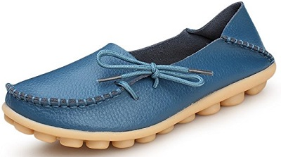 5. Kunsto Leather Casual Loafers