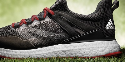 best spikeless golf shoes - black adidas