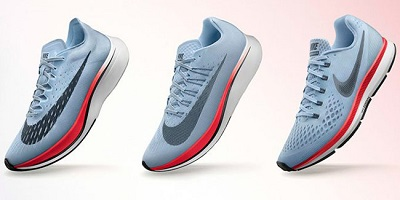 Best Nike Running Shoes - display of shoes