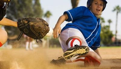 Best Softball Cleats-kid sliding to base
