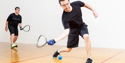 Best Squash Shoes - playing indoors