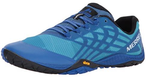 Merrell Trail Glove 4 barefoot running shoes