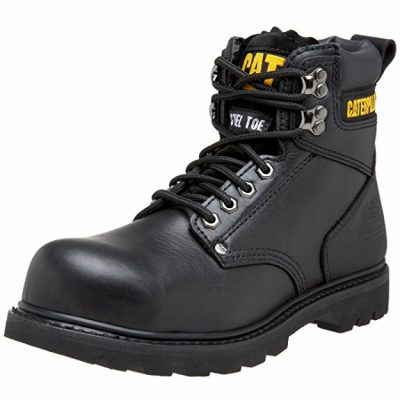 6. Caterpillar 2nd Shift Steel Toe