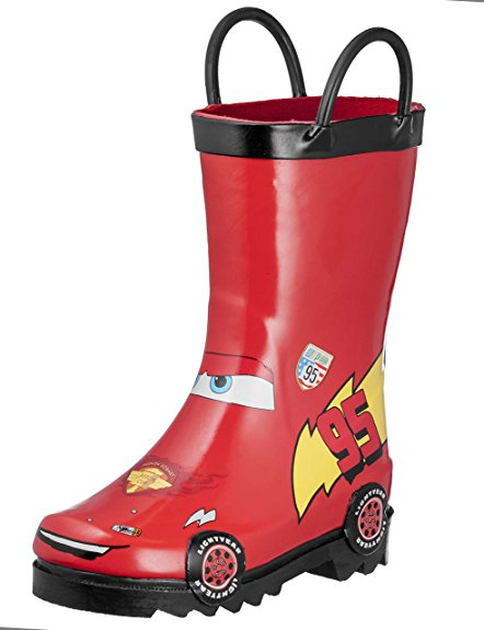2. Disney Cars Rubber Boots