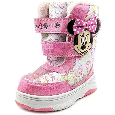 3. Minnie Mouse Snow Boots