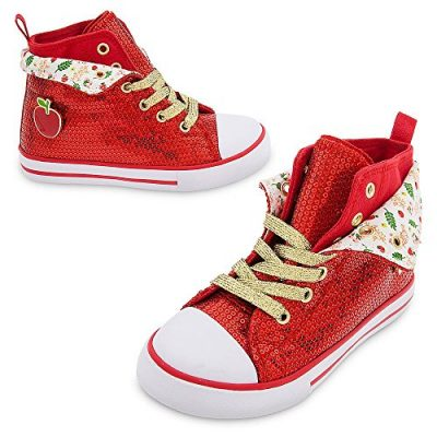 7. Snow White Sequin Sneakers