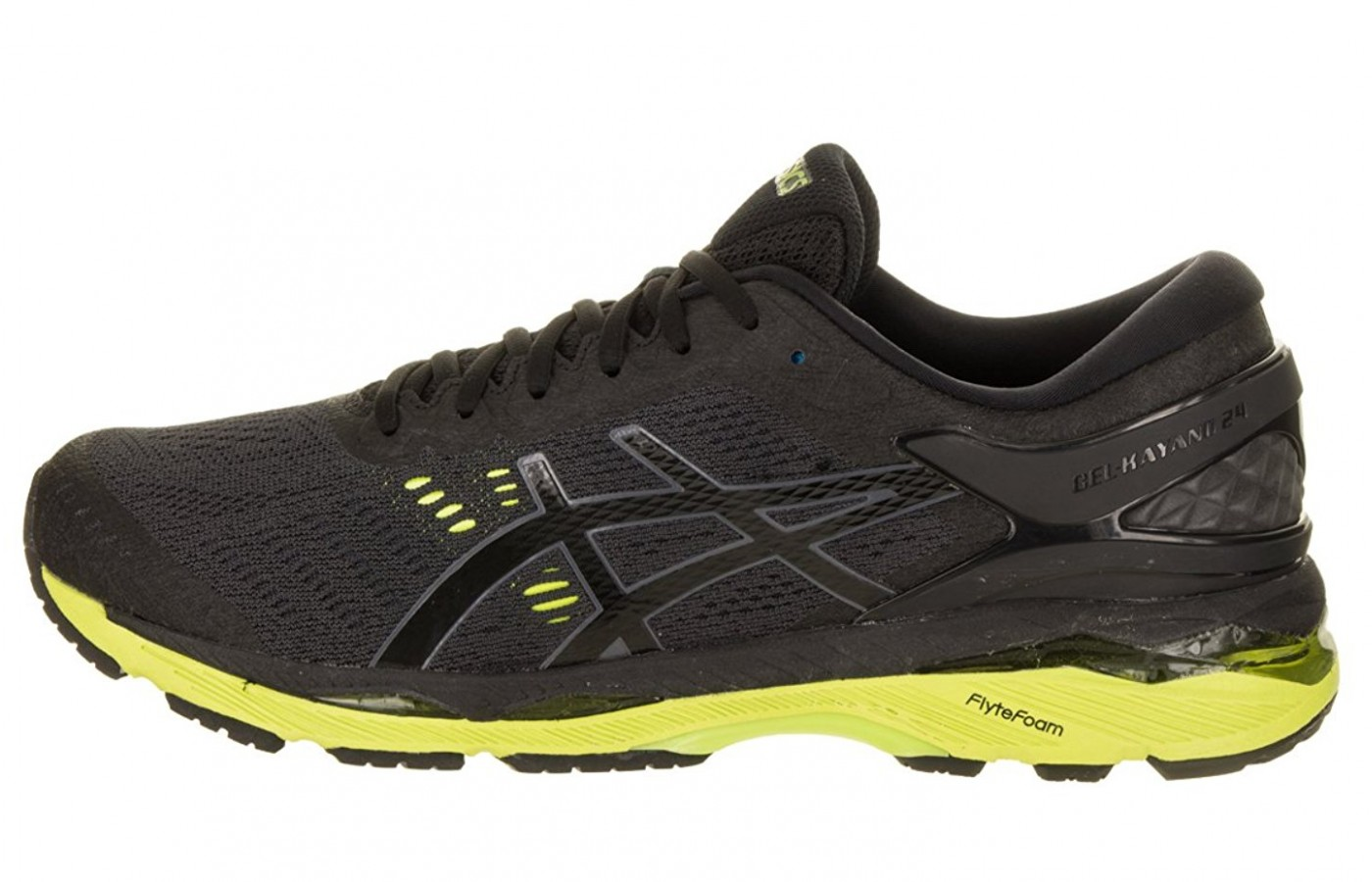 asics gel-kayano 24 black