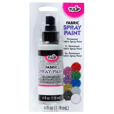 10. Tulip Fabric Spray Paint