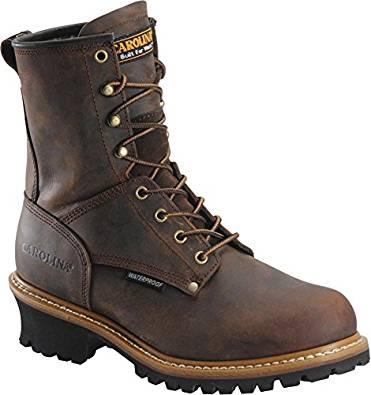 7. Carolina Steel Toe Loggers