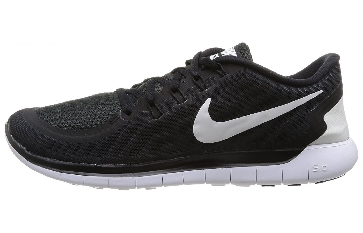 ... left to right view of the Nike Free 5.0 ...
