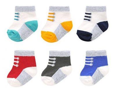 5. Carter's Baby Computer Socks