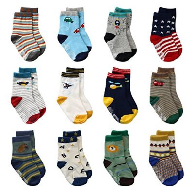 6. Laisor Assorted Non-Skid Ankle Cotton