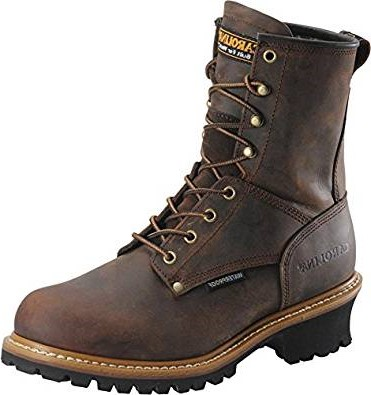 7. Carolina Steel Toe Loggers