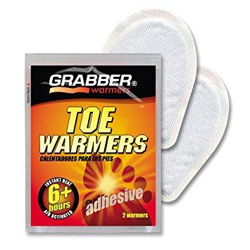 7. Grabber Toe Warmers