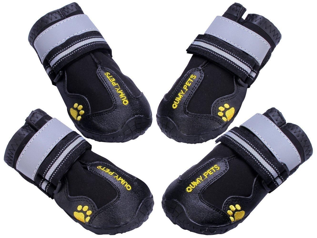 2. QUMY Dog Boots