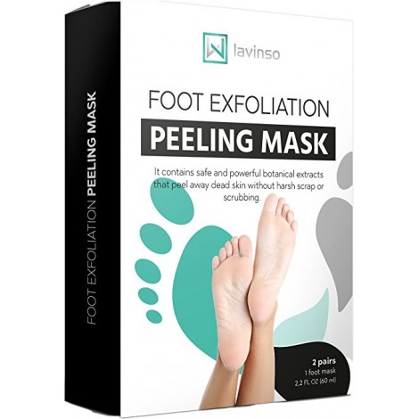 5. Lavinso Foot Peel Mask