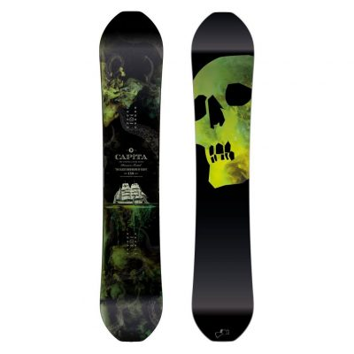 6. CAPiTA Black Snowboard of Death