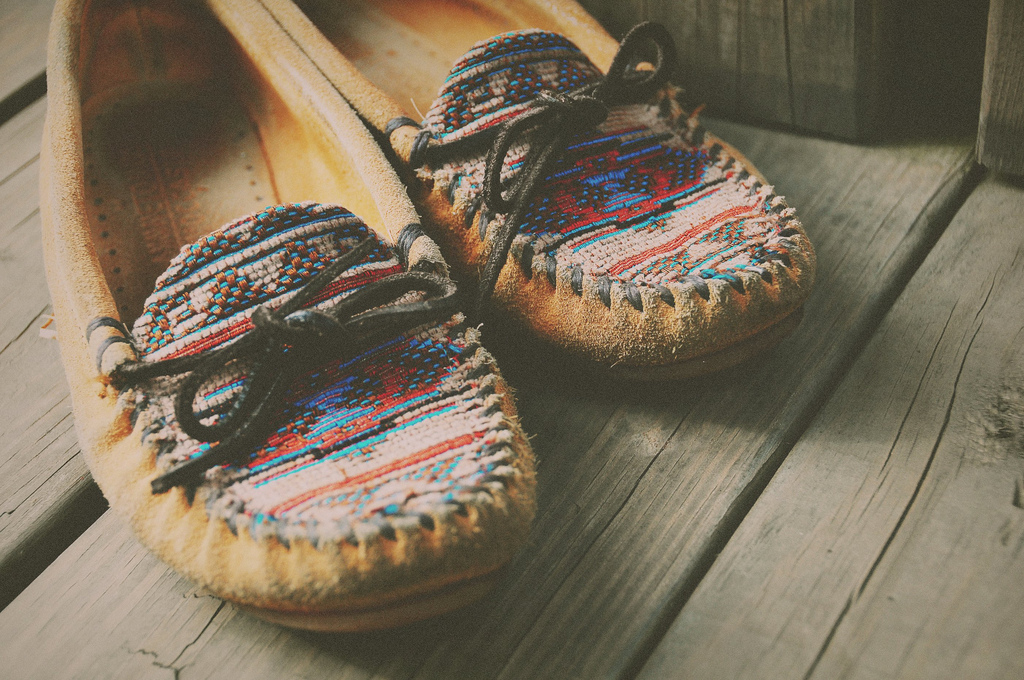 Colored Best Moccasins