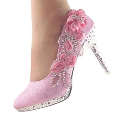 9. GetMoreBeauty Lace Flower
