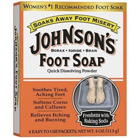 5. Johnson's Foot Soap
