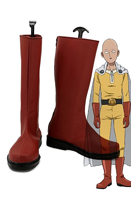 10. One Punch Man Red Boots