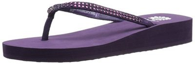 Yellow Box Jello purple shoes