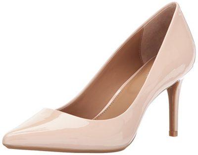 calvin klein gayle champagne heels