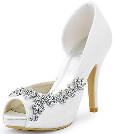 4. ElegantPark Peep Toe