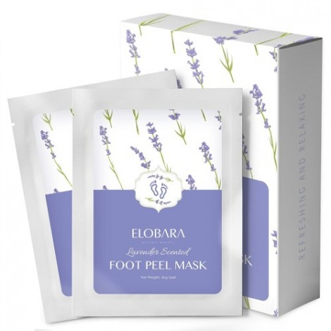 2. Elobara Foot Peel Mask