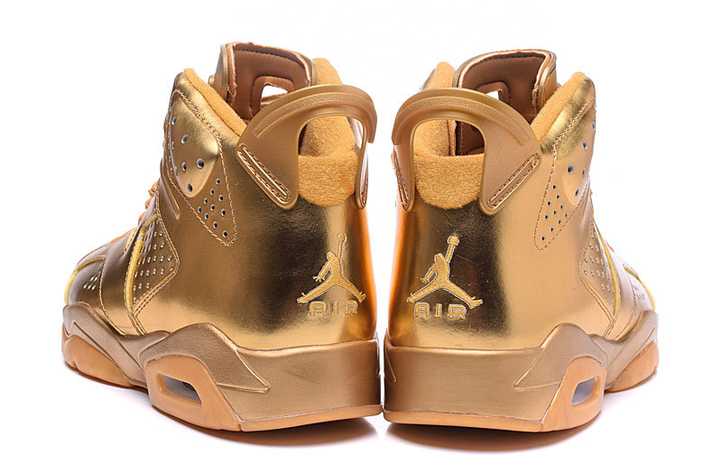 gold jordan shoes for boys