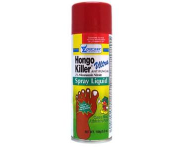 8. Hongo Killer Spray
