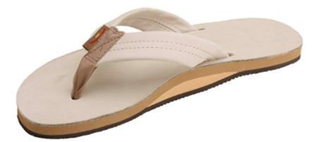 2. Rainbow Sandals Single Layer