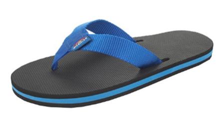8. Rainbow Sandals Single Rubber