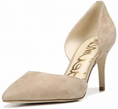 sam edelman telsa d'orsay champagne heels