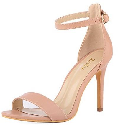 8. ZriEy Heeled Sandals