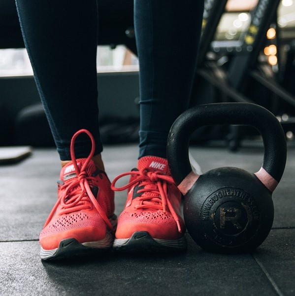 Coral-Running-Shoes-At-Gym-Best-Athletes-Foot-Sprays