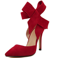 MMJULY Stilettos with Bowknot