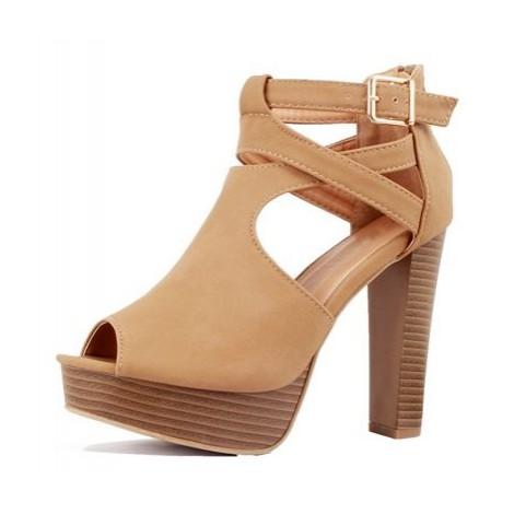 6. Guilty Shoes Gladiator Platform