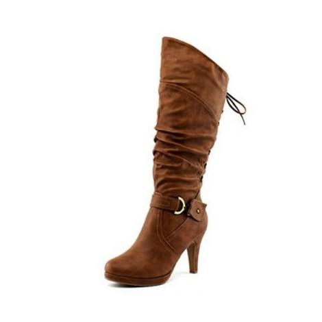 4. Top Moda Lace-up Heel