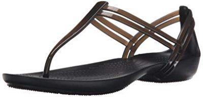 7. Crocs Isabella T-Strap