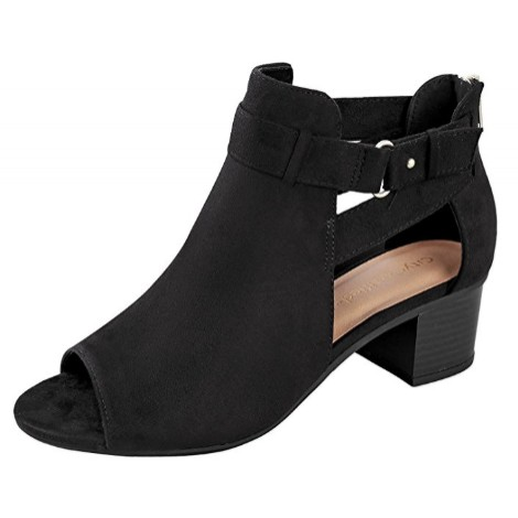 9. City Classified Cutout Bootie