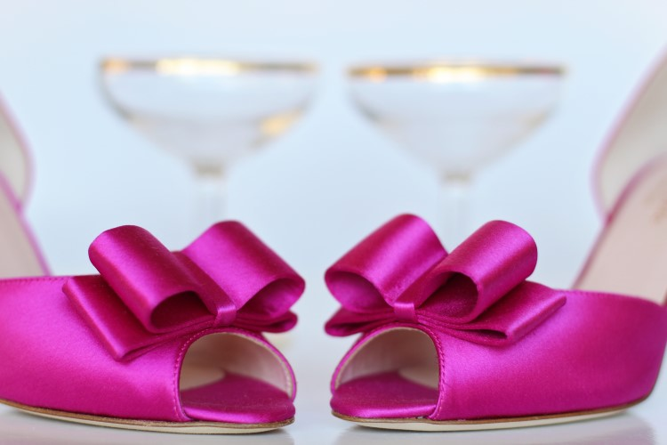 Pink Best Shoes with Bows