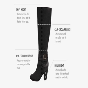 16dc08acb38 10 Best Thigh-High Boots Reviewed   Rated