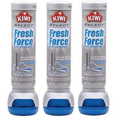 Kiwi Fresh Force best shoe deodorizer spray