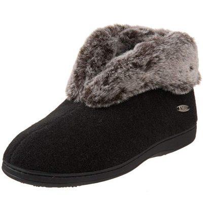Best Slipper Boots Acorn Faux Chinchilla