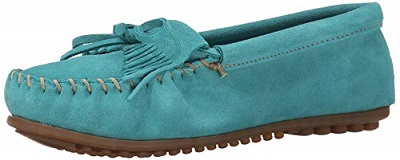 Best Turquoise Shoes Minnetonka Kilty Suede